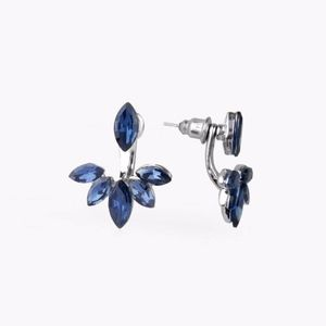 Free with Bundle Radical Refinement Blue Earrings